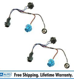 dorman headlight wiring harness side pair for chevy cobalt pontiac g5 pursuit [ 1600 x 1600 Pixel ]