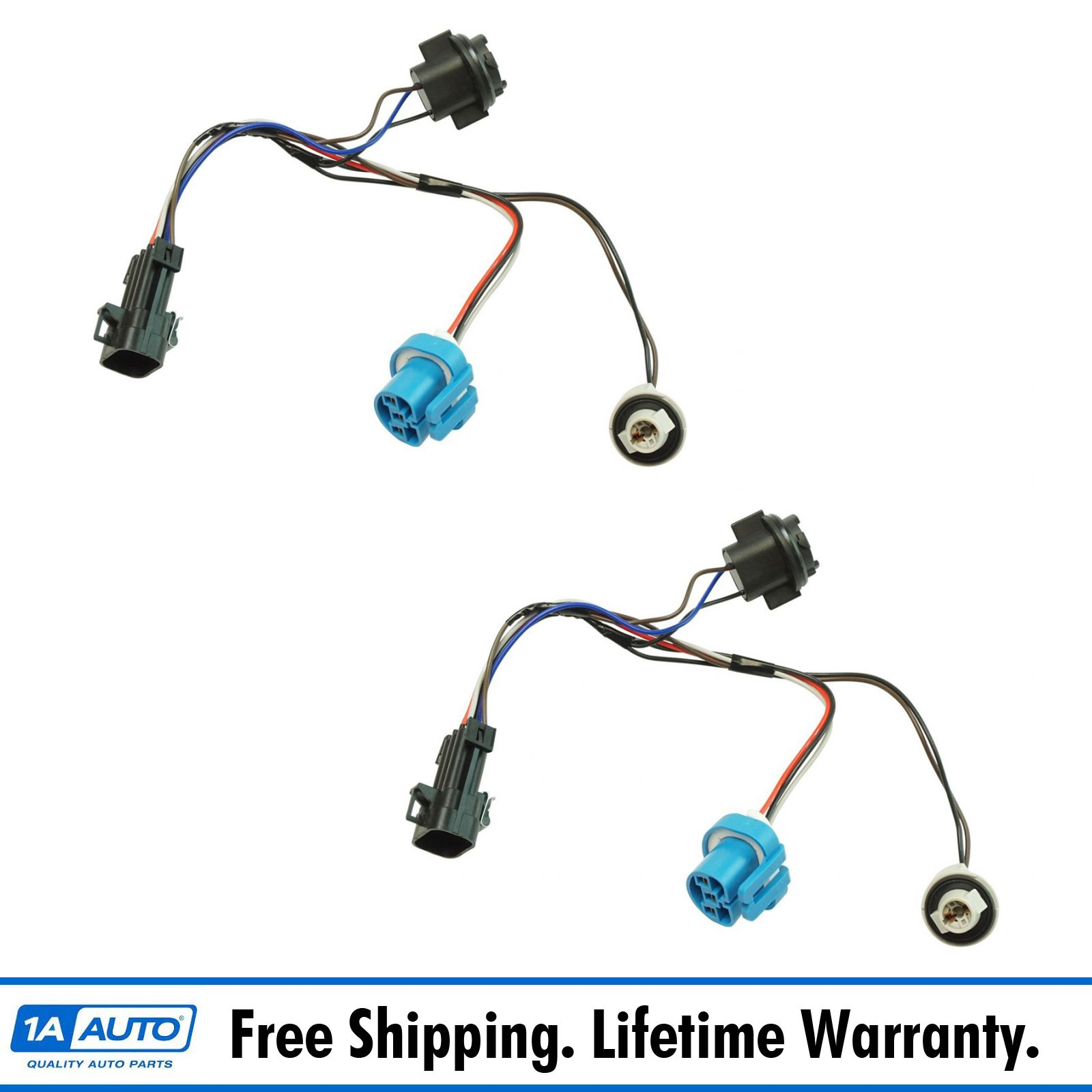 hight resolution of dorman headlight wiring harness side pair for chevy cobalt pontiac g5 pursuit