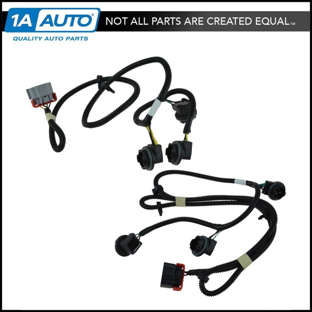 medium resolution of details about oem tail light lamp wiring harness pair lh rh sides for chevy gmc pickup truck