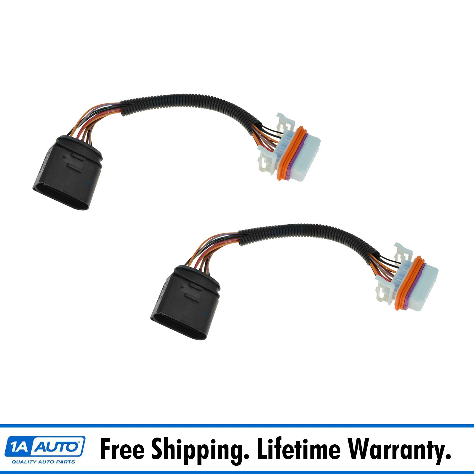 hight resolution of oem 7l6971071a headlight wiring harness pair for 04 07 volkswagen touareg hybrid