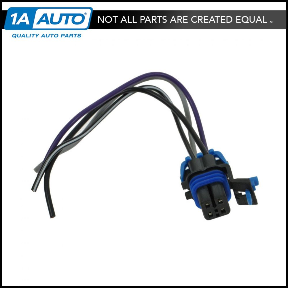 medium resolution of fuel pump wiring harness with square connector 4 wire pigtail for chevy gm