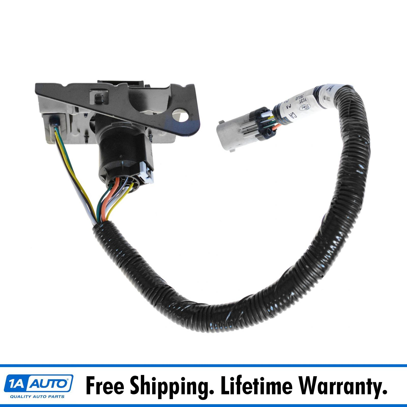 hight resolution of details about ford 4 7 pin trailer tow wiring harness w plug bracket for f250 f350 f450 sd