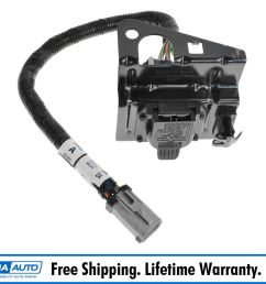 details about ford 4 7 pin trailer tow wiring harness w plug bracket for f250 f350 f450 sd [ 1600 x 1600 Pixel ]