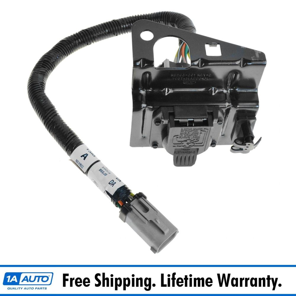 medium resolution of details about ford 4 7 pin trailer tow wiring harness w plug bracket for f250 f350 f450 sd