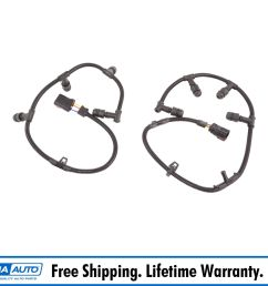 diesel glow plug wire harness left right pair with tool for 6 0l powerstroke [ 1600 x 1600 Pixel ]
