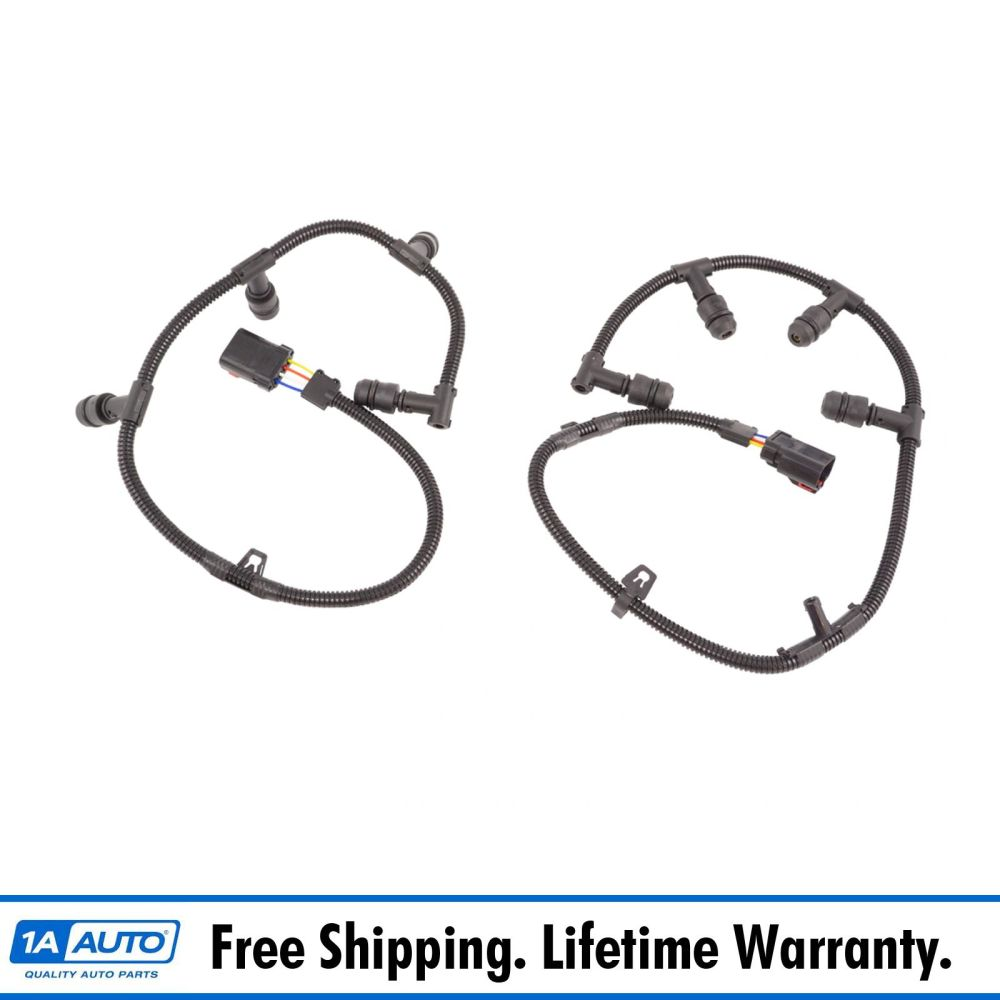 medium resolution of diesel glow plug wire harness left right pair with tool for 6 0l powerstroke