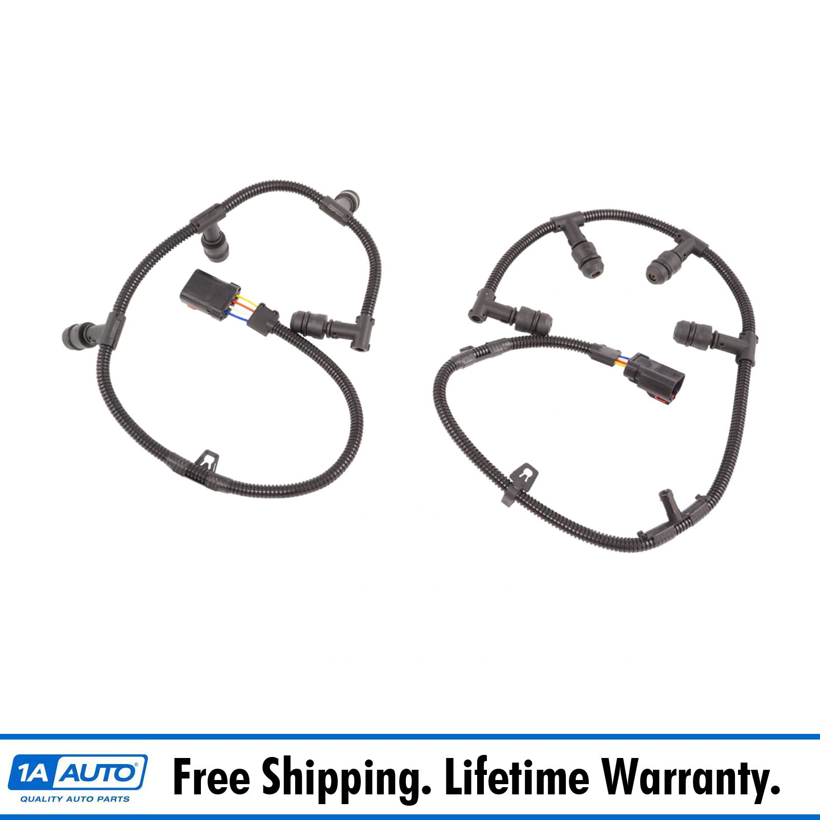 hight resolution of diesel glow plug wire harness left right pair with tool for 6 0l powerstroke