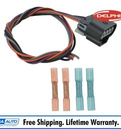 delphi fa10003 fuel pump wiring harness connector oval plug for chevy gmc new [ 1600 x 1600 Pixel ]