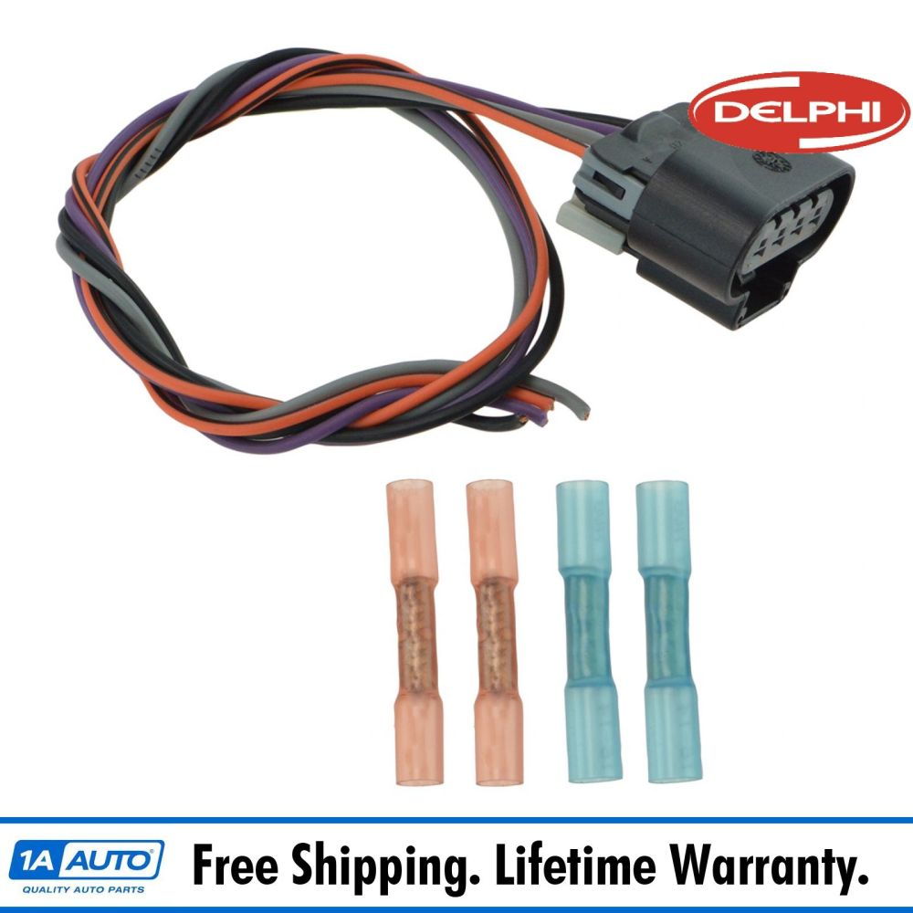 medium resolution of delphi fa10003 fuel pump wiring harness connector oval plug for chevy gmc new