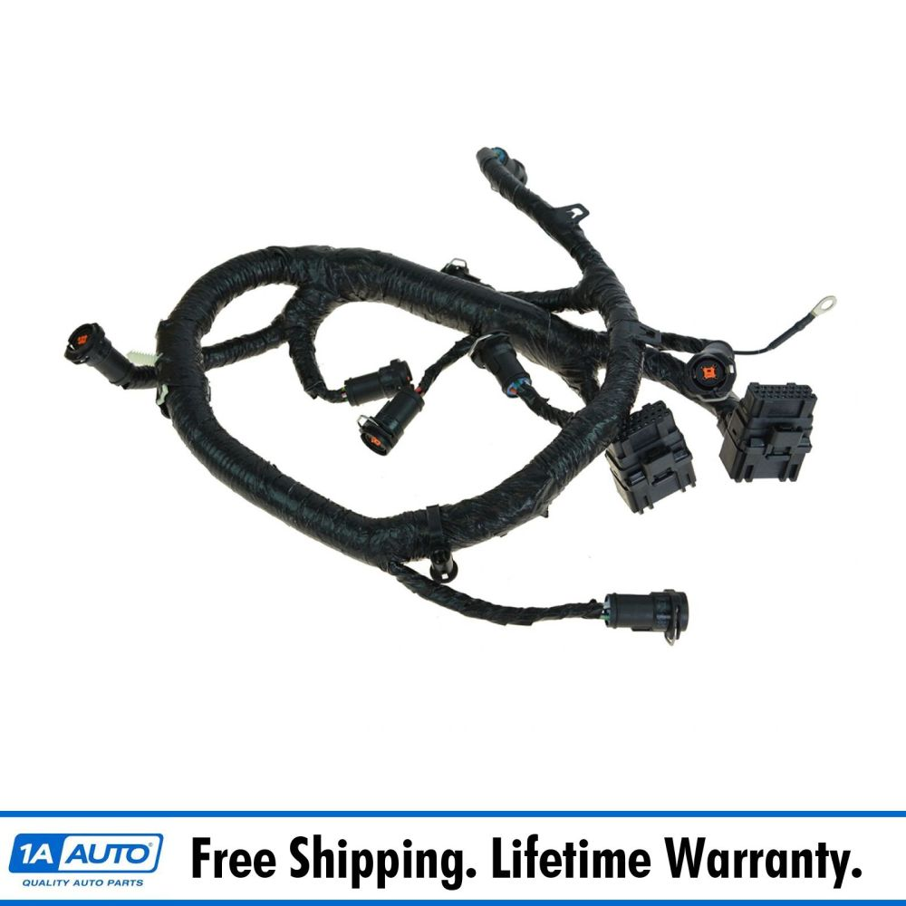 medium resolution of details about oem fuel injector wiring harness for 05 07 ford diesel truck