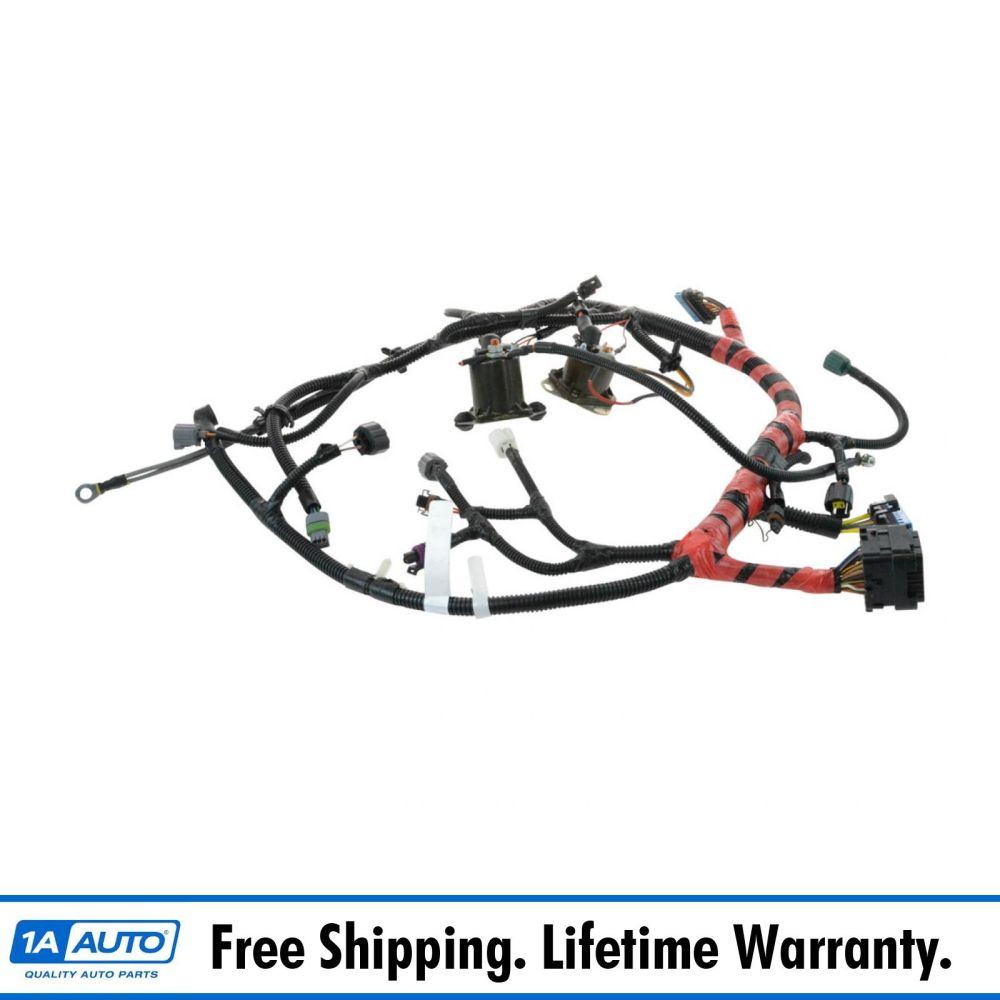 medium resolution of oem f81z12b637fa main engine wiring harness for super duty pickup truck suv new
