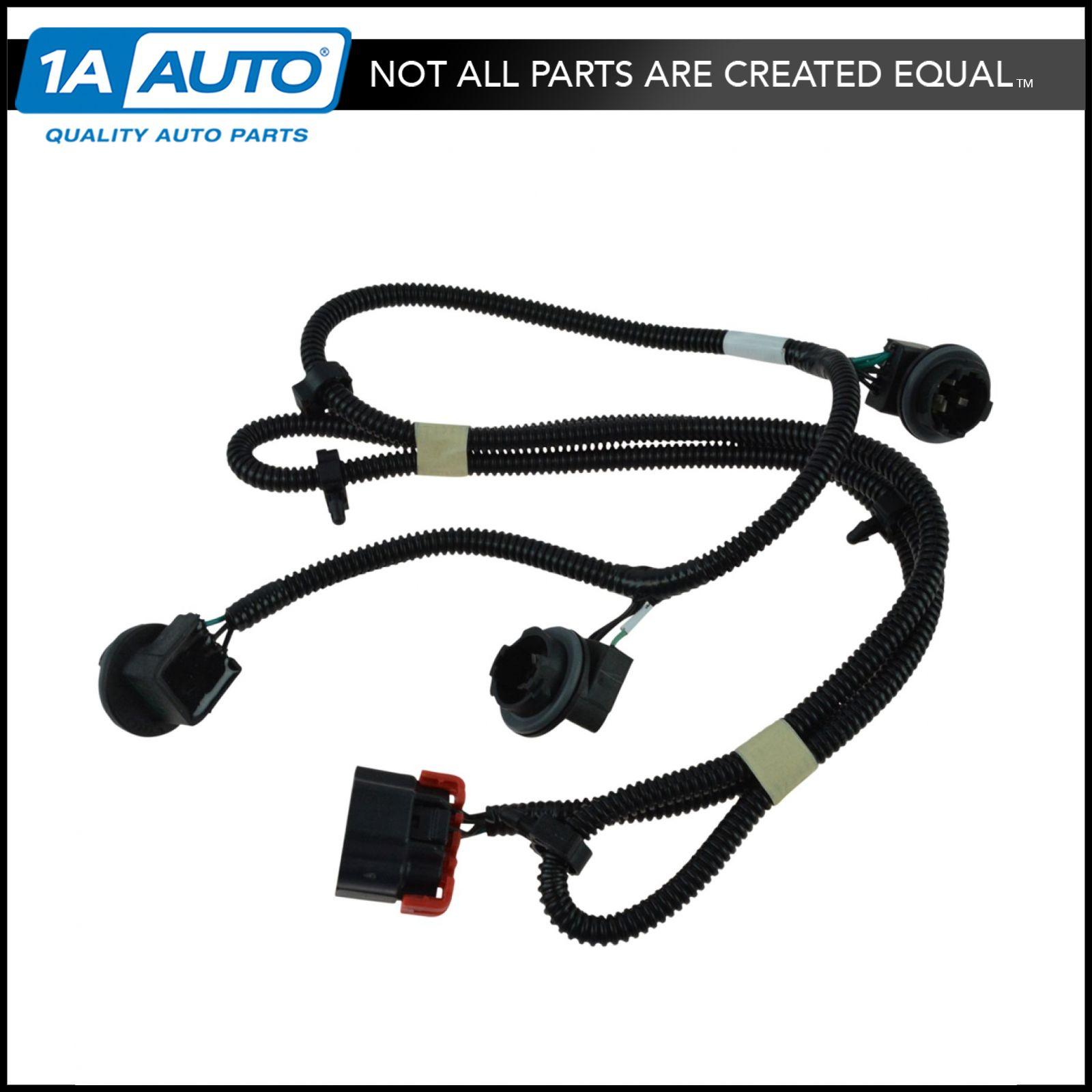 hight resolution of oem tail light lamp wiring harness rh passenger for chevy silverado gmc sierra