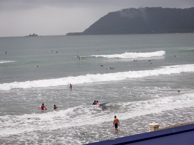 baler beach waves one adventurer