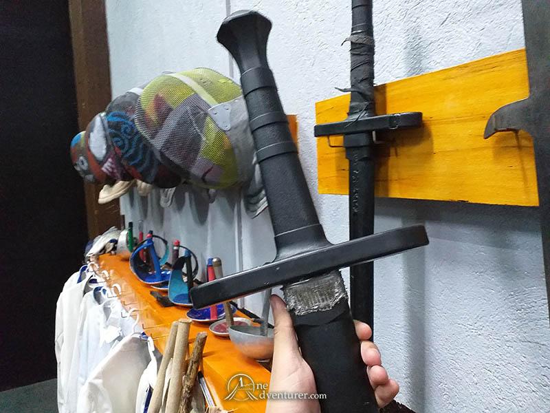 oneadventurer forge martial fitness sword