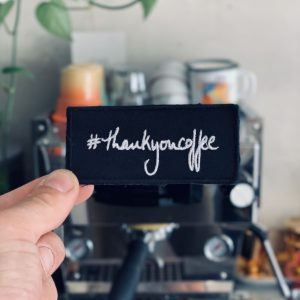 #thankyoucoffee Patch