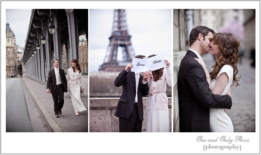 Paris wedding photographer One and Only Paris Photography