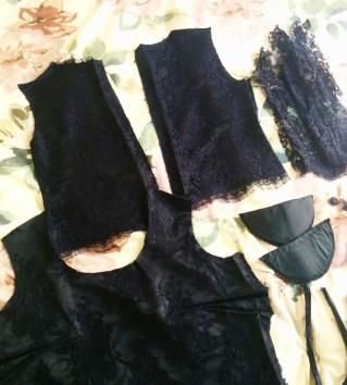Deconstructed blouse