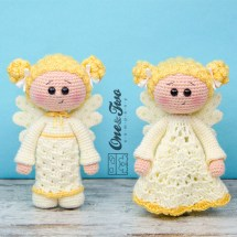 One and Two Company - Annie the Angel Lovey & Amigurumi