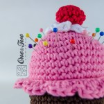 One and Two Company - Cupcake Pincushion Free Crochet Pattern