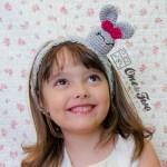 One and Two Company - Olivia the Bunny Headband - Free Crochet Pattern