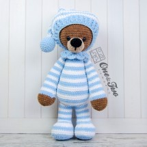 One and Two Company - Sydney the Big Teddy Bear amigurumi