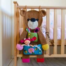 One and Two Company - Teddy Bear Organizer