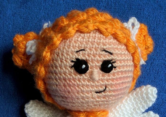 How to Add Faces to Your Amigurumi: Sleepy Eyes | Crochet eyes ... | 491x700