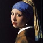 感觉时间静止——戴珍珠耳环的少女 by 扬·维米尔