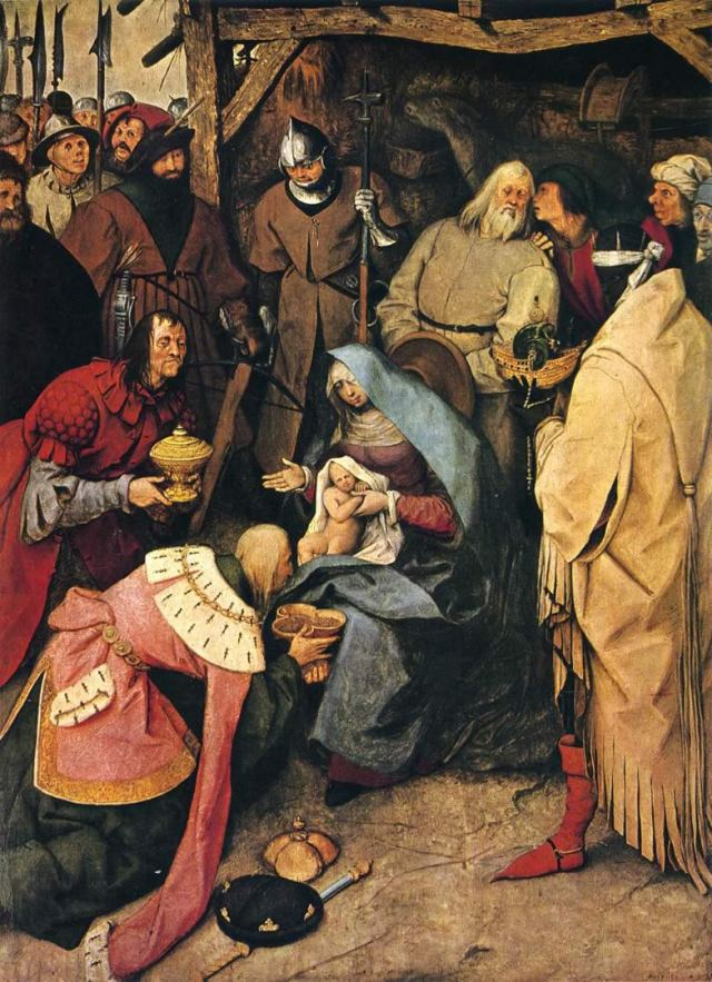 the-adoration-of-the-kings bruegel elder
