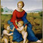 草地上的圣母·拉斐尔