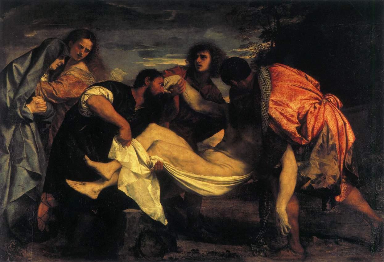 悲剧如何让人接受?—— 提香《基督下葬》