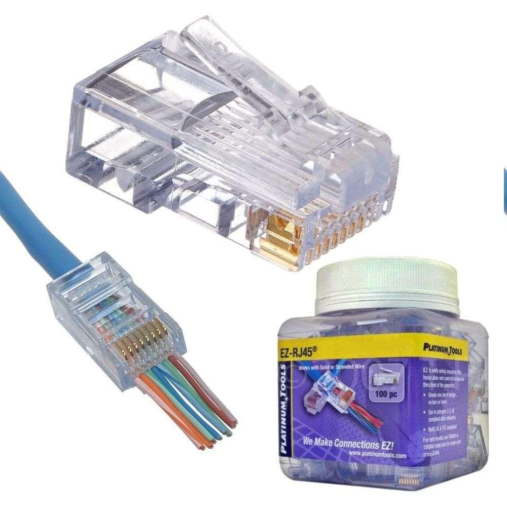 medium resolution of platinum tools make connections ez platinum tools ez rj45 cat6 connector 100 jar oneav germany av distribution b2b online shop