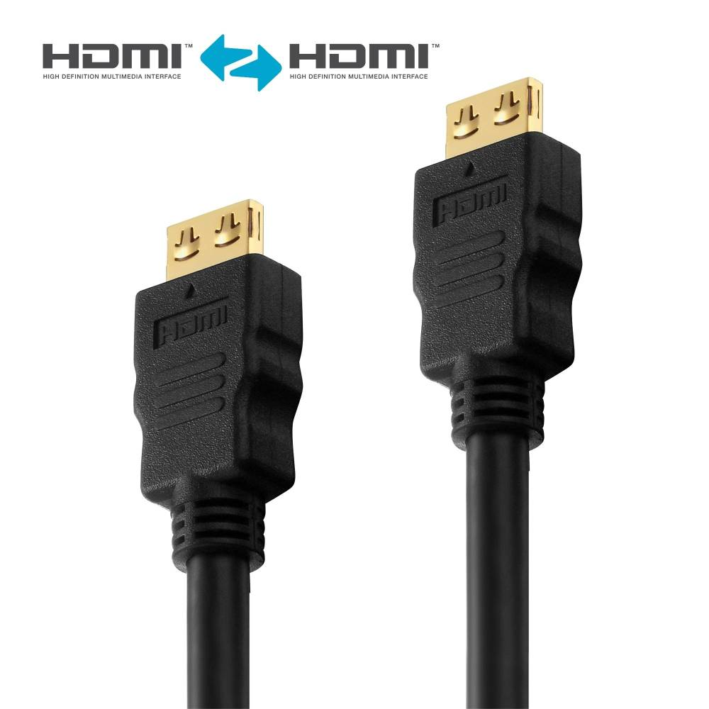 medium resolution of hdmi cable pureinstall 0 50m hdmi connection cables oneav germany av distribution b2b online shop