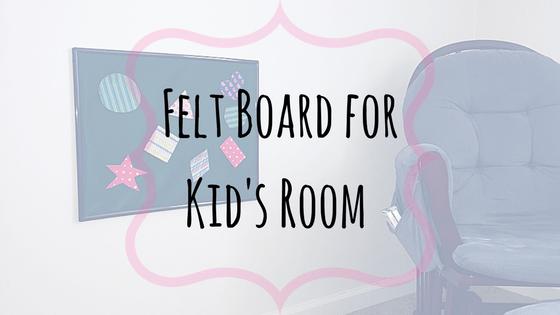 Felt Board for Kids