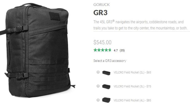 f605692dbd72 Complete List of Maximum Size Carry-on Bags (2019 Update) - One Bag ...