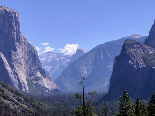 El Capitan, Bridal Falls & Half Dome-Yosemite National Park