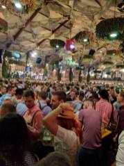 Hofbräu Festzelt Tent-Oktoberfest-Munich, Germany