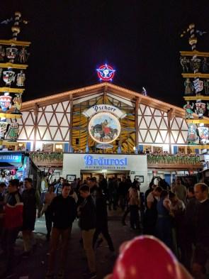 Pschorr-Bräurosl Tent-Oktoberfest-Munich, Germany