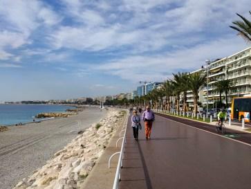 Boardwalk-Nice, France