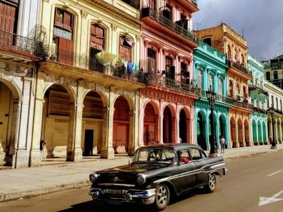 Across from El Capitolio- La Habana, Cuba