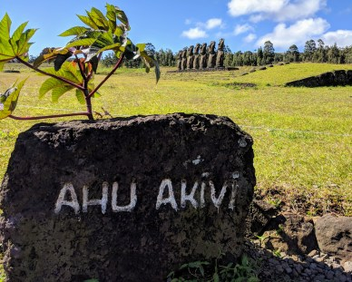 Ahu Akiva-Rapa Nui (Easter Island)