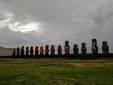 Ahu Tongariki Sunrise-Rapa Nui (Easter Island)