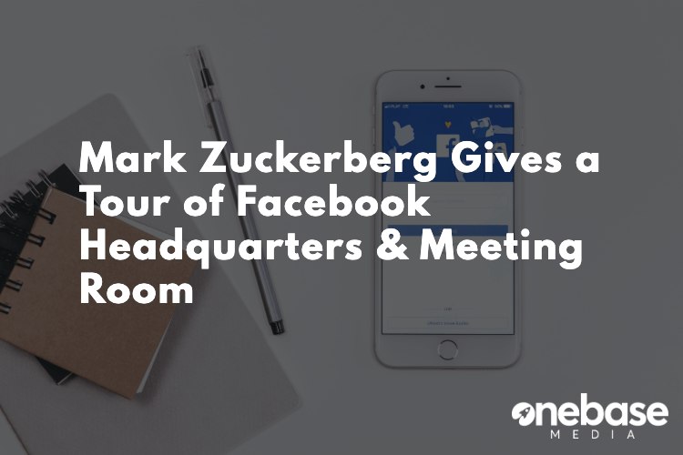mark zuckerberg shows around hes facebook office