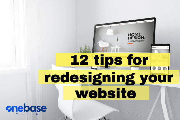 12 tips for redesigning your website