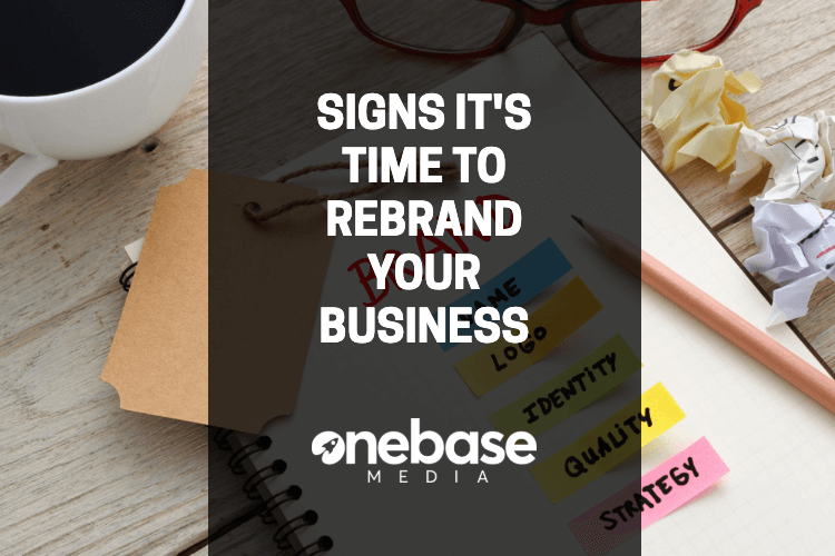 signs its time to rebrand your business