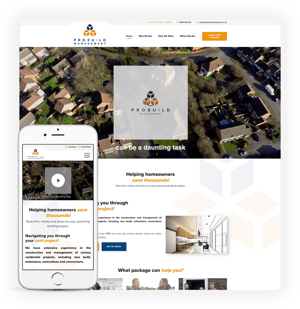 property development web design