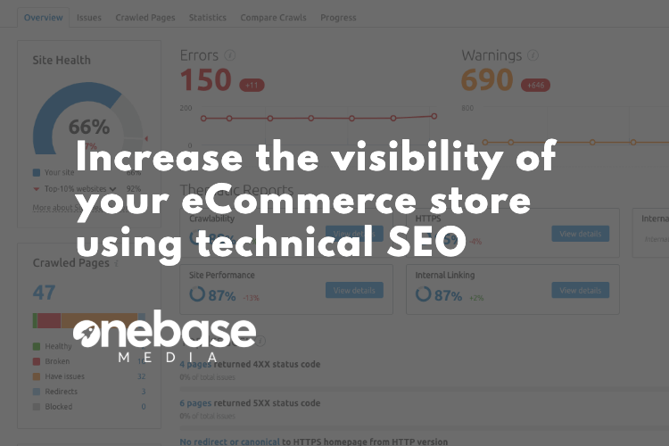 increase ecommerce traffic with technical seo