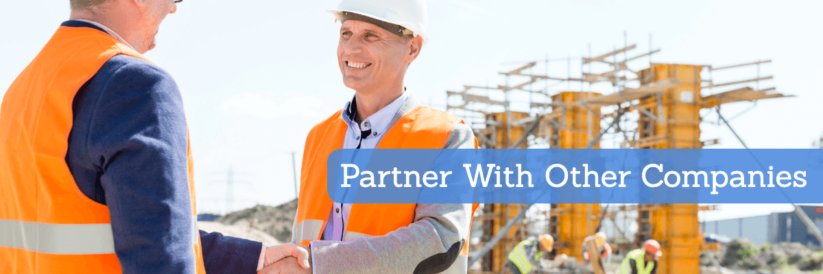 partner with other construction companies