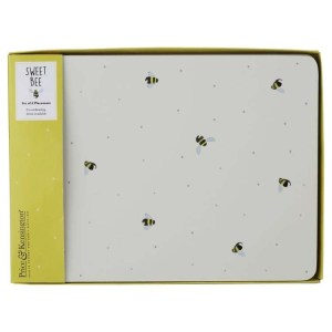 Sweet Bee Coffee Placemats Set of 4
