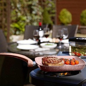 Tower 28cm non-stick Forged Aluminium Grill Pan